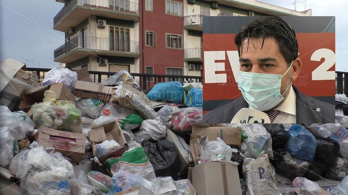 Emergenza rifiuti, un mese per tornare alla normalità. Annuncio dell'assessore Brunetti