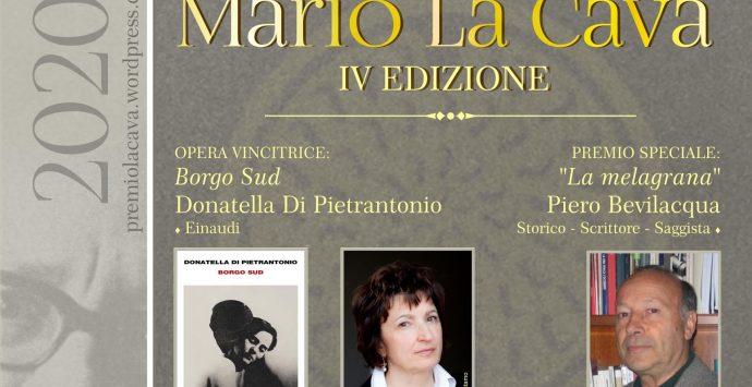 """Bovalino, a Di Pierantonio il premio """"La Cava"""" 2020"""