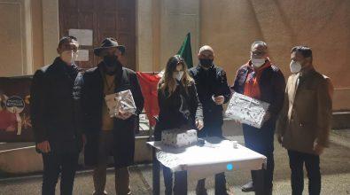 Reggio Calabria, il Natale tricolore di Fratelli d'Italia