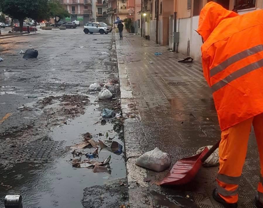 Nubifragio a Reggio, Falcomatà: «Chiedo scusa. Ci siamo fatti trovare impreparati»
