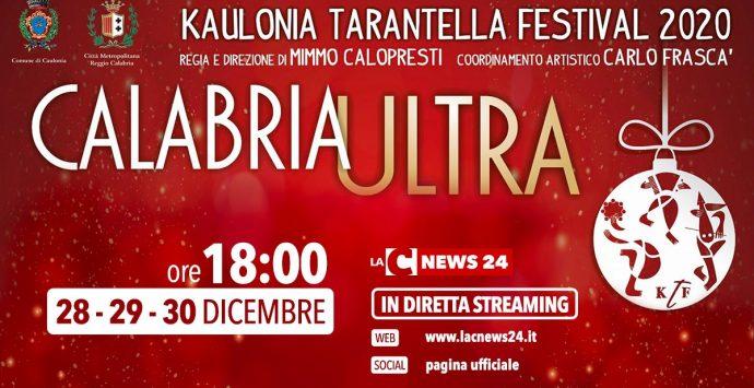 Kaulonia Tarantella Festival 2020 al via, la diretta streaming su LaC News24