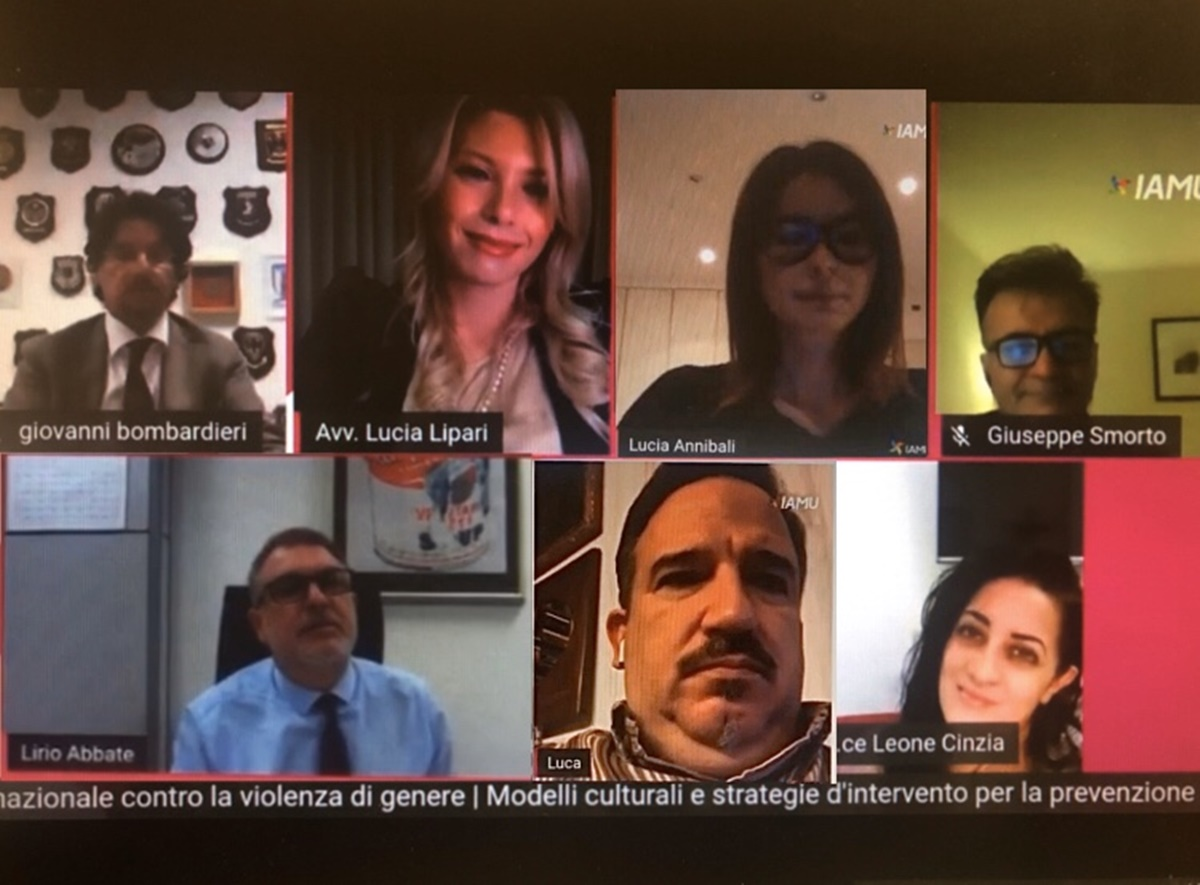 Maria Antonietta Rositani: meeting internazionale online contro la violenza di genere