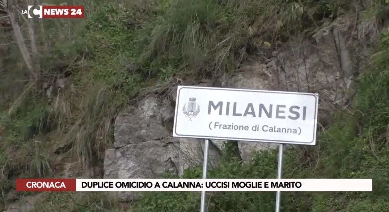 Duplice omicidio a Calanna, arrestato il presunto assassino