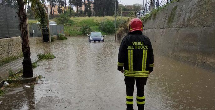 Maltempo a Reggio Calabria, chiusi villa comunale e lungomare