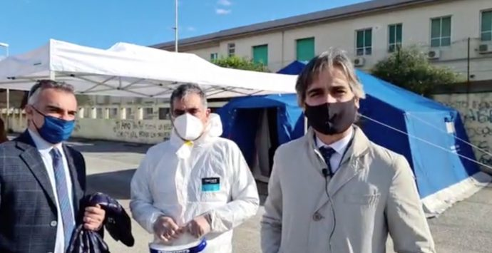 Coronavirus Reggio Calabria, al via a Pellaro il drive-in per i tamponi