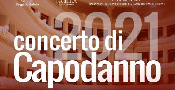 Il 6 gennaio al Teatro Francesco Cilea di Reggio Calabria il concerto di inizio anno