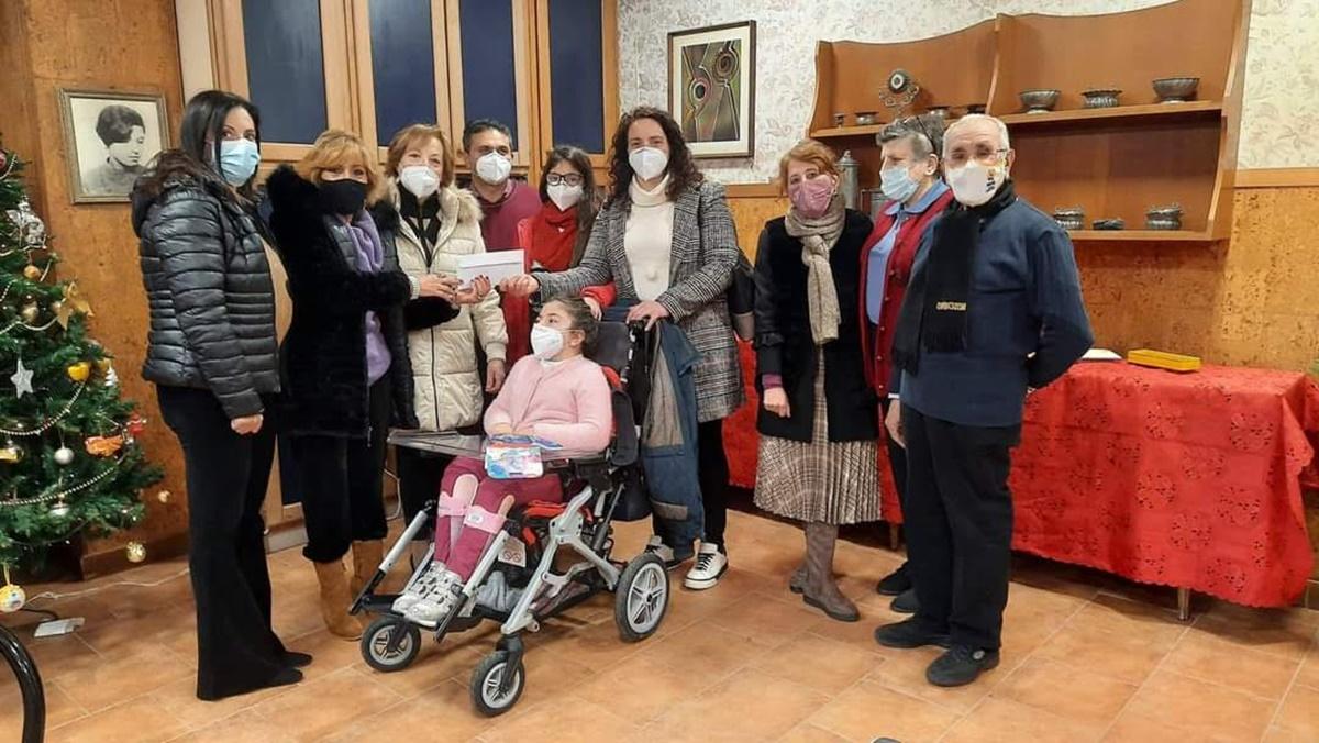 Biesse: arriva la Befana anche per Benedetta, una bambina affetta da grave malattia