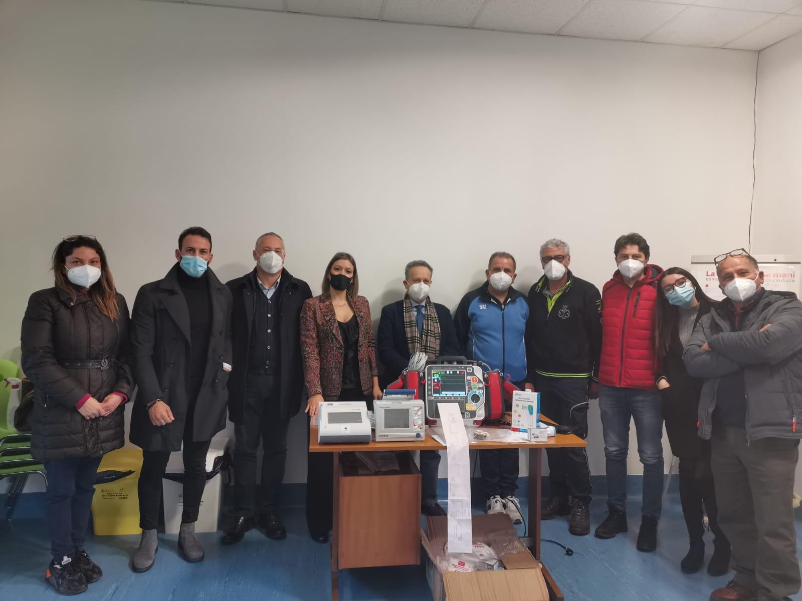 Taurianova, l'azienda Biomatrix dona strumentazione all'Usca