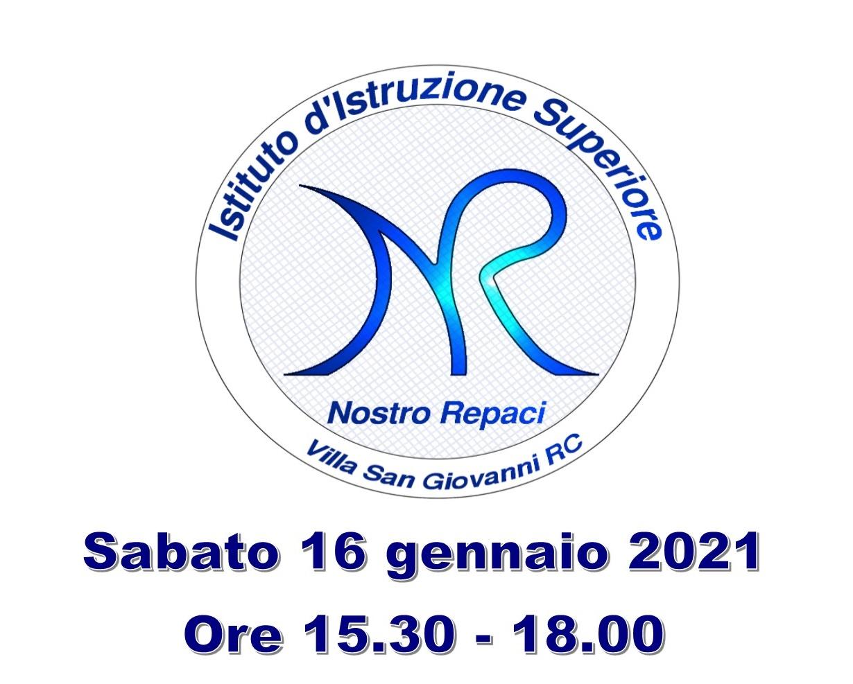 """Villa San Giovanni, Virtual Open day al Liceo """"Nostro"""" e all'ITE """"Repaci"""": secondo incontro online il 16 gennaio"""