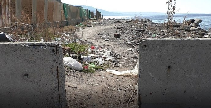 Collegamento Gallico Catona, rifiuti e degrado in attesa del restyling |VIDEO