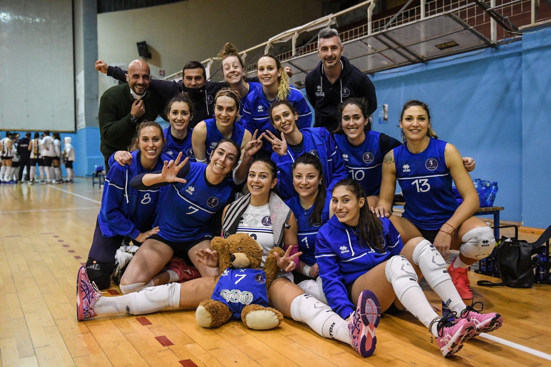 Volley Reghion, vittoria da favola nel derby contro Sant'Anno