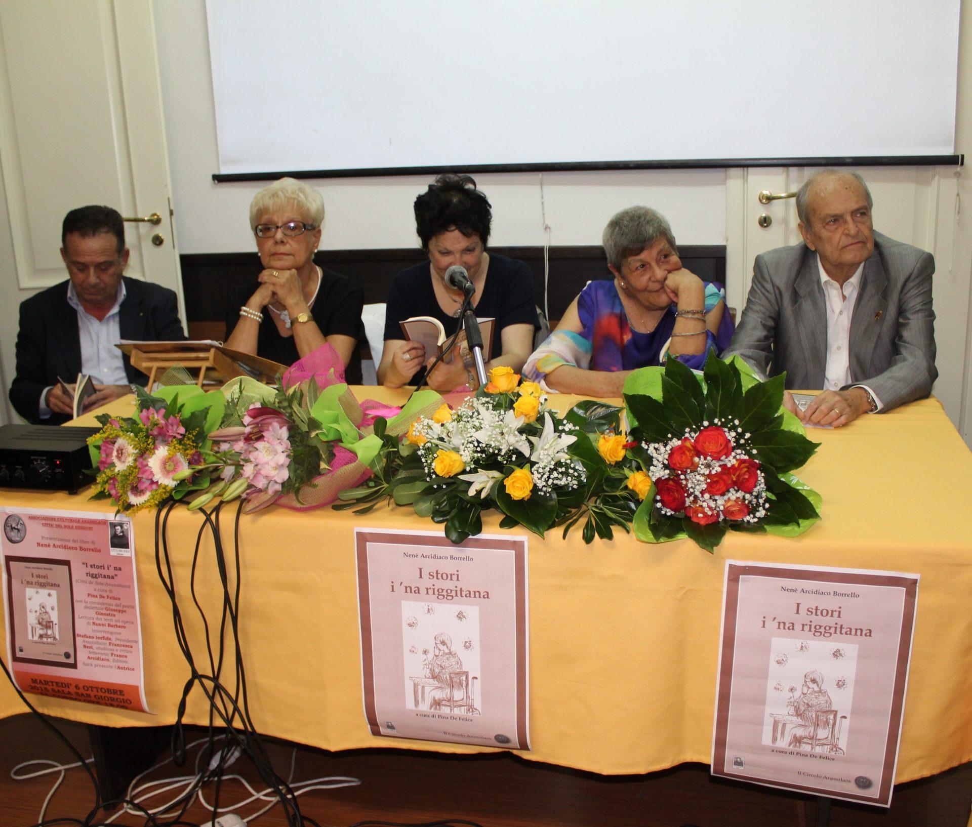 Arte, l'associazione Anassilaos rende omaggio a Nenè Arcidiaco Borrello
