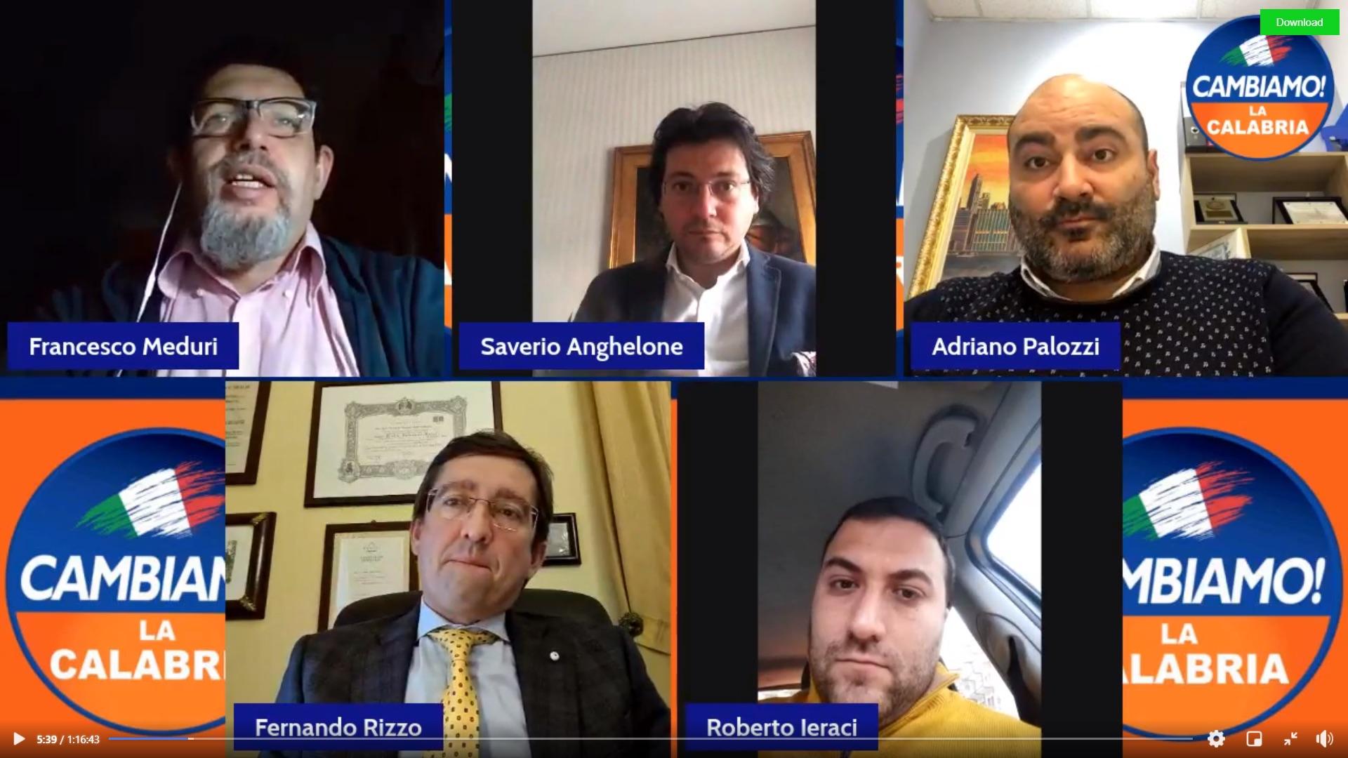 """Infrastrutture e Recovery Plan, forum online di """"Cambiamo"""""""
