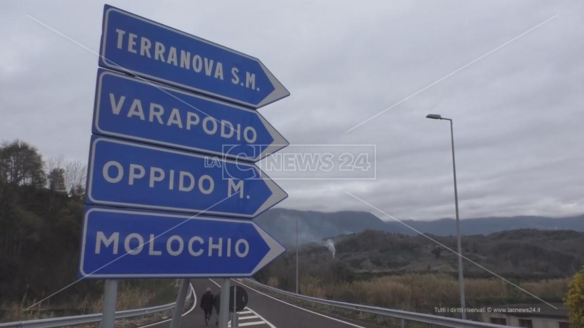 Pedemontana, da domani apre il nuovo tratto che da Taurianova porta a Varapodio e Oppido Mamertina