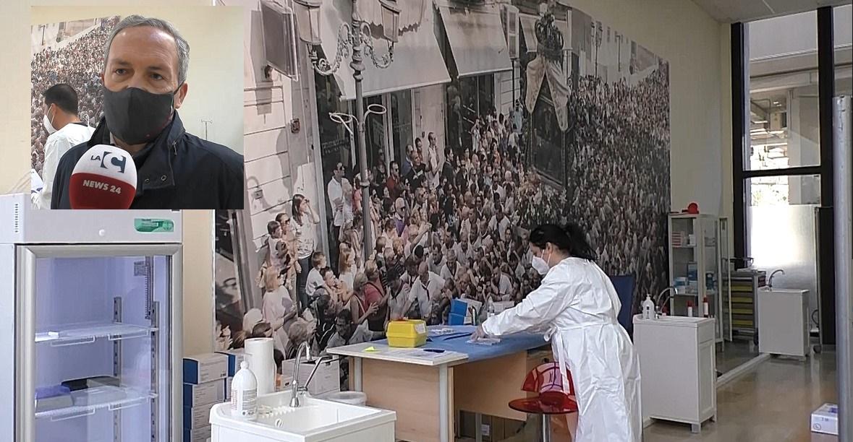 Vaccini al Consiglio Regionale, Borruto (Asp): in un mese circa 20mila somministrazioni