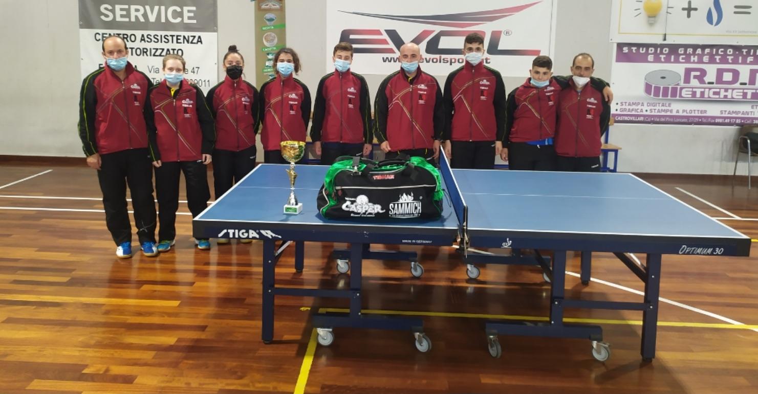 Tennistavolo femmile a Reggio Calabria, riparte il campionato di serie B