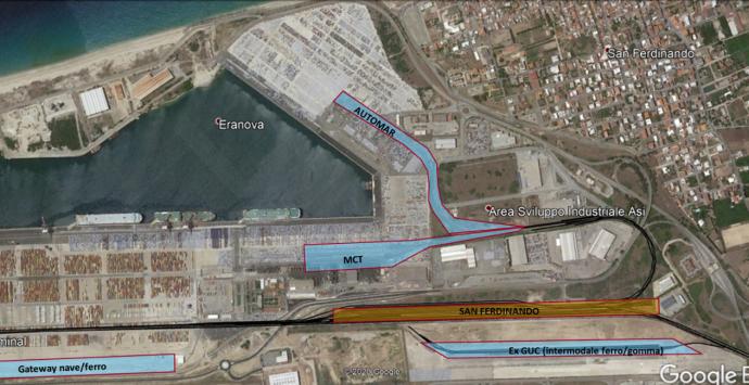Istituito il comprensorio ferroviario del porto di Gioia Tauro