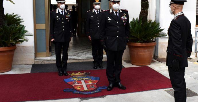"Carabinieri, visita del nuovo comandante generale al comando interregionale ""Culqualber"""