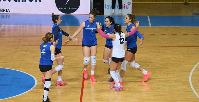 Volley Reghion sconfitta al tie-break contro l'Akademia Sant'Anna
