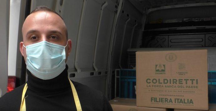 Pasqua in pandemia, Coldiretti alimenta la solidarietà donando prodotti made in Italy