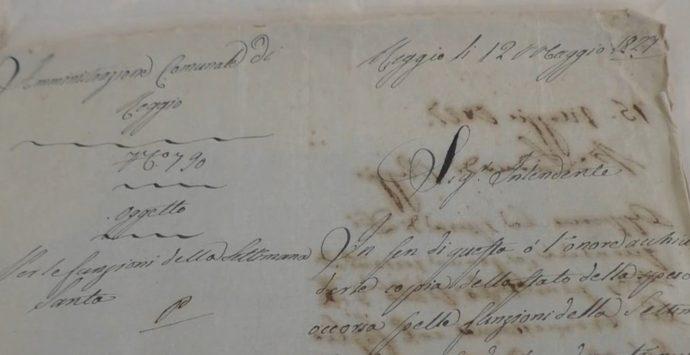 La Settimana Santa dell'epoca borbonica rivive nei documenti dell'Archivio di Stato