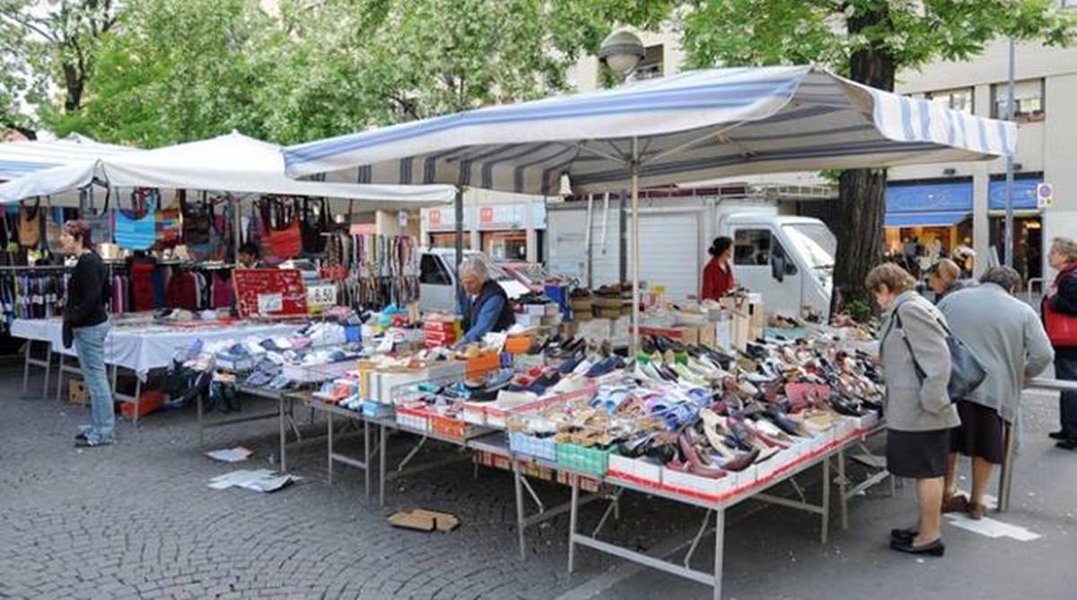 Reggio, revocate le limitazioni al mercato settimanale di Botteghelle