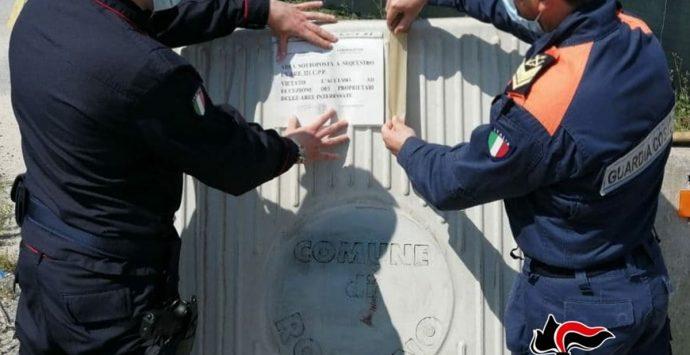 Rosarno, smaltimento illecito di rifiuti: sotto sequestro vasta area del demanio marittimo
