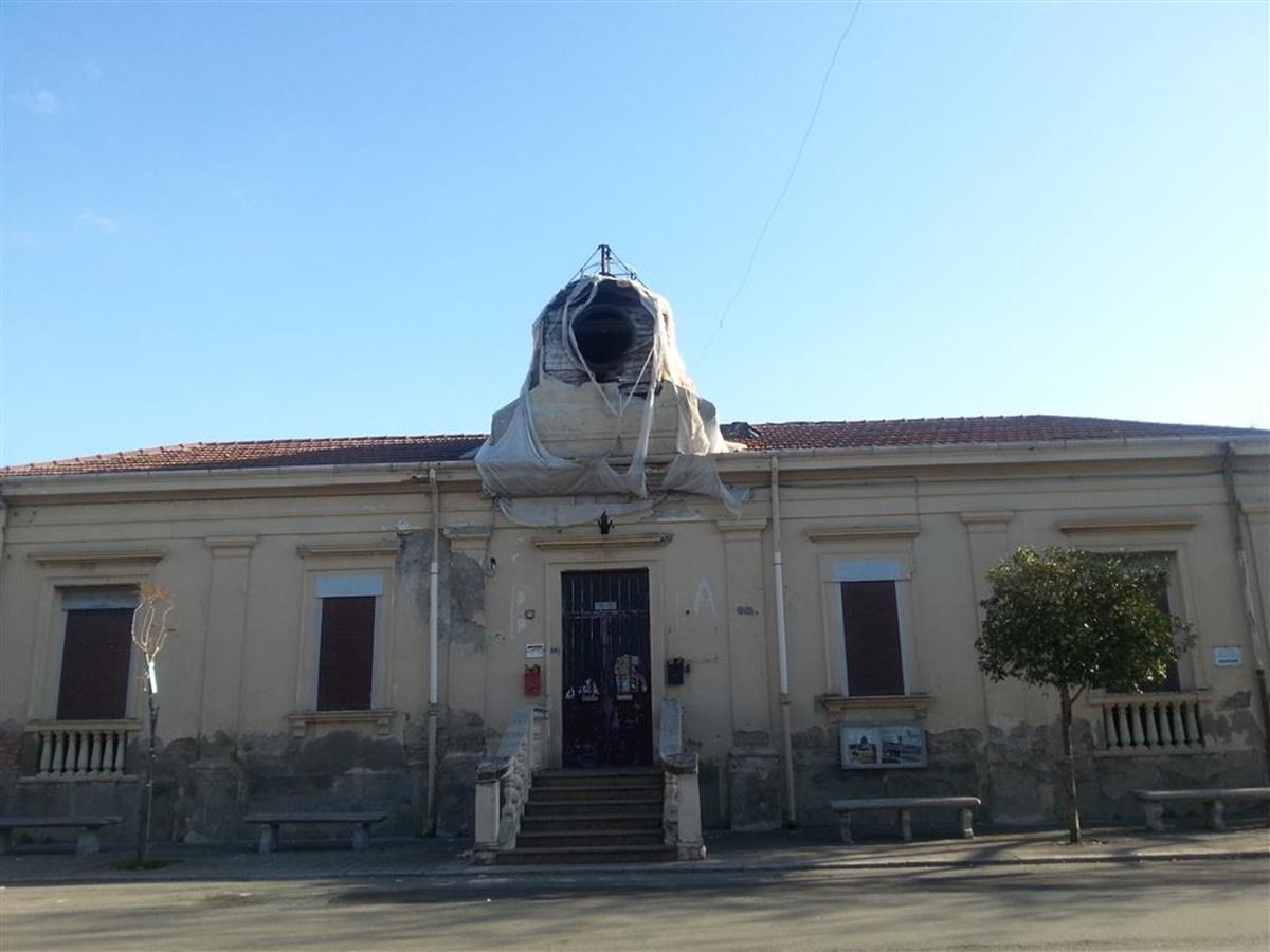 Pellaro, Crea: «La sede della vecchia delegazione municipale cade a pezzi»