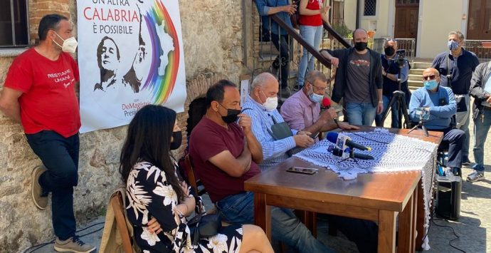 Regionali Calabria, Lucano ufficializza la sua candidatura