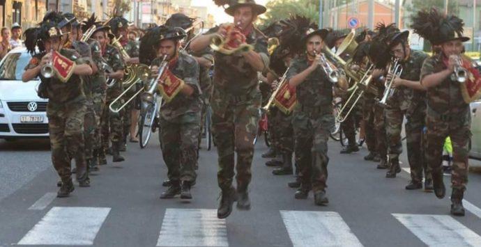 Festa della Repubblica, alla stazione di Santa Caterina la Fanfara dei Bersaglieri
