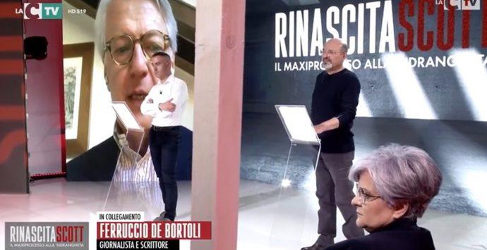 Rinascita-Scott, il maxiprocesso stasera in Tv. De Bortoli: «Lavoro storico di LaC»