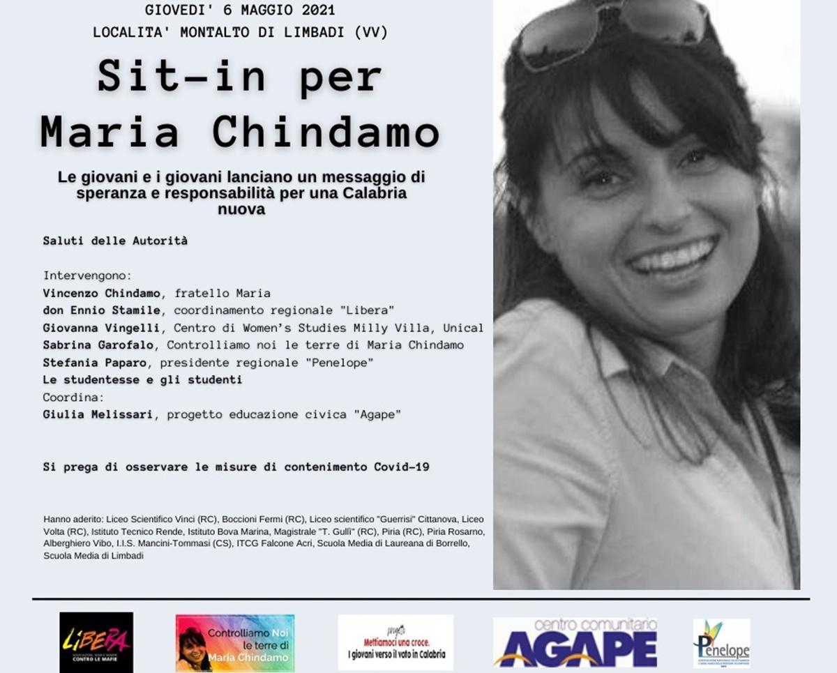Sit-in per ricordare Maria Chindamo, misteriosamente scomparsa nel 2016