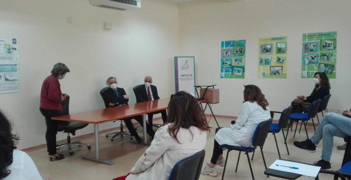 Il management Arpacal al dipartimento di Reggio Calabria per superare le criticità