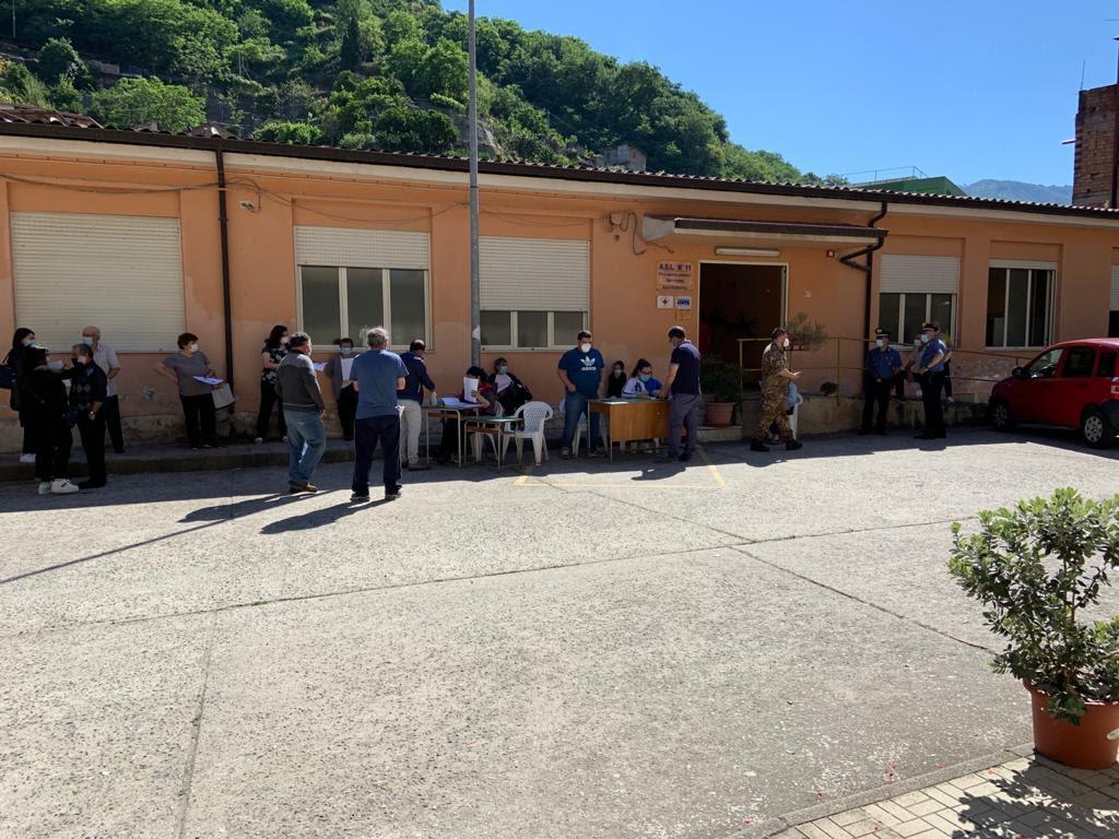 San Roberto, conclusa la prima fase della campagna vaccinale