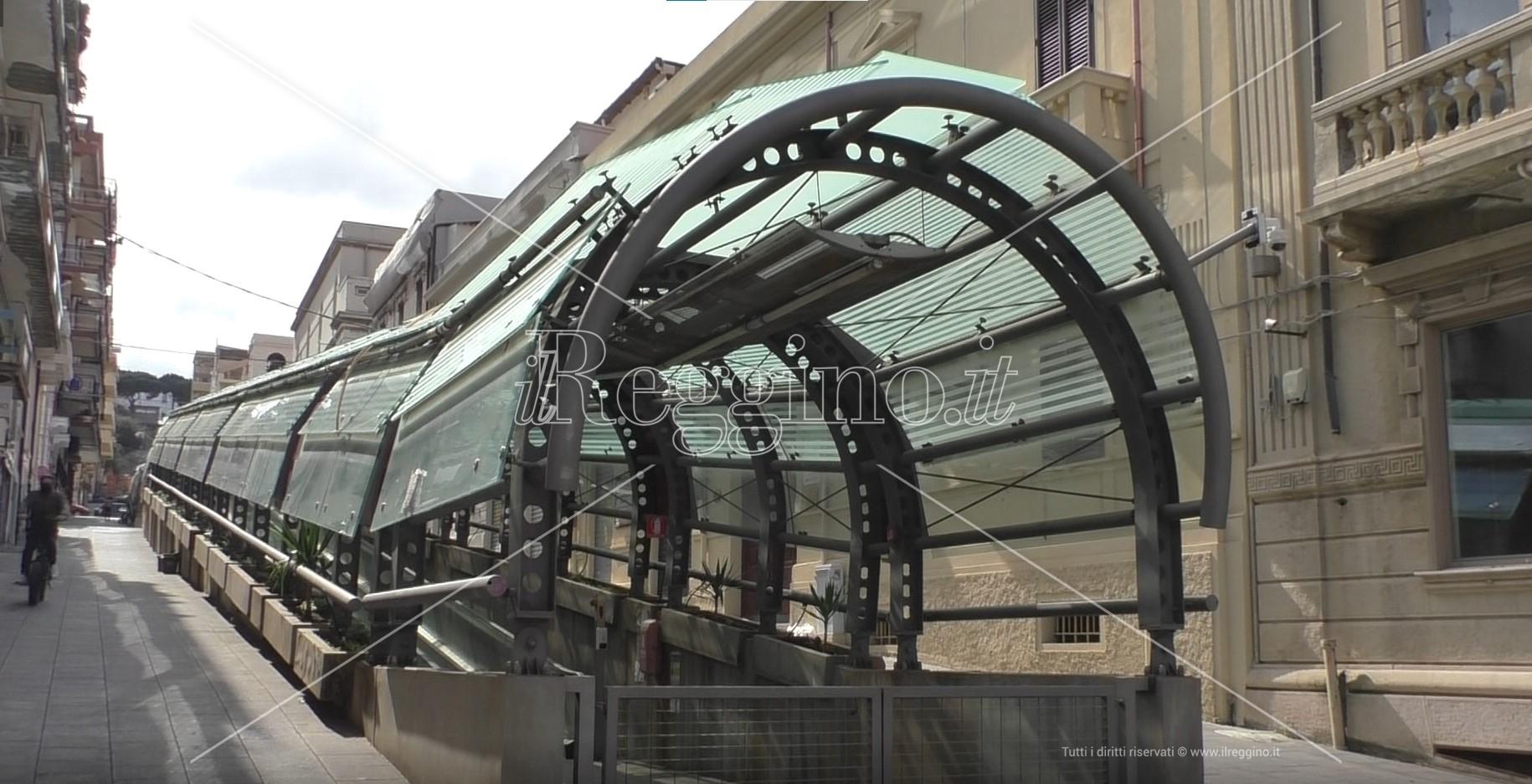Reggio, verso il completamento del tapis roulant di via Giudecca?