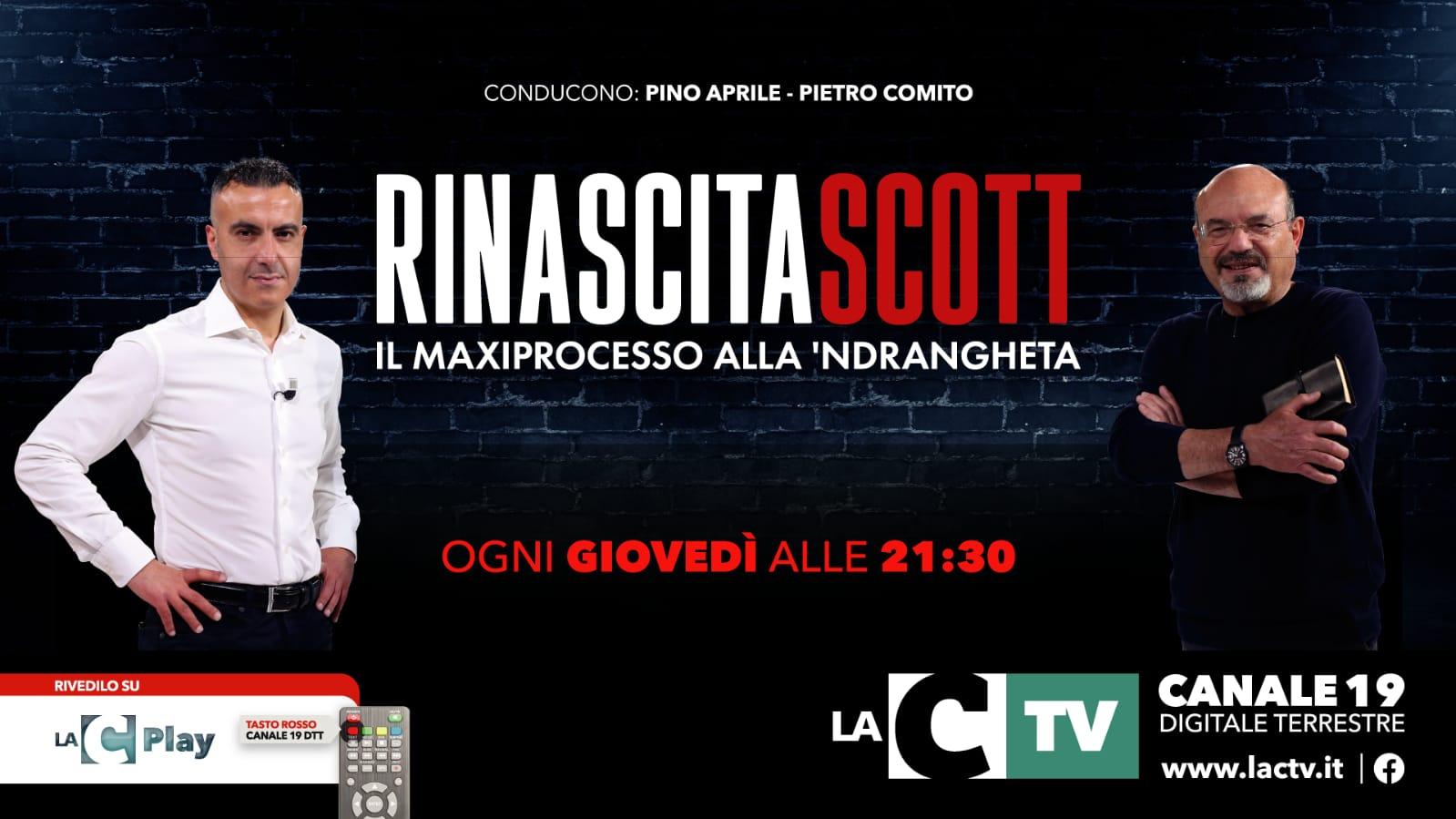 Torna il format LaC Rinascita Scott-Il maxiprocesso alla 'ndrangheta: GUARDA LA DIRETTA