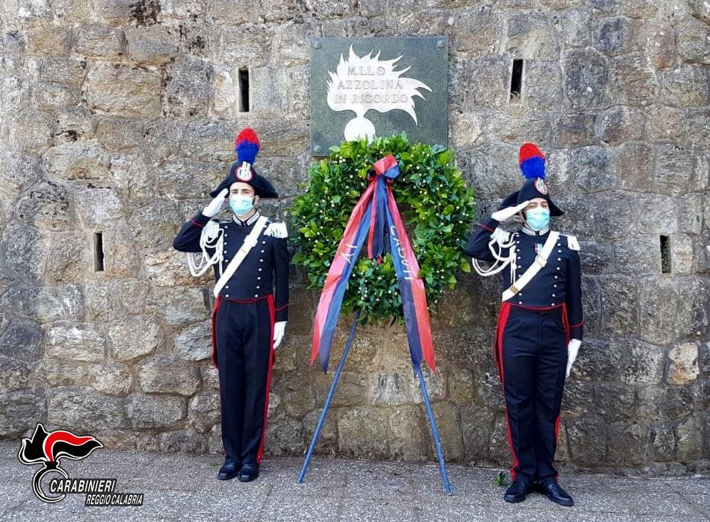 Sant'Eufemia d'Aspromonte, l'Arma ricorda il maresciallo Azzolina