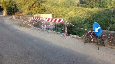 Maltempo, frana parte del ponte che collega Terranova Sappo Minulio a Varapodio