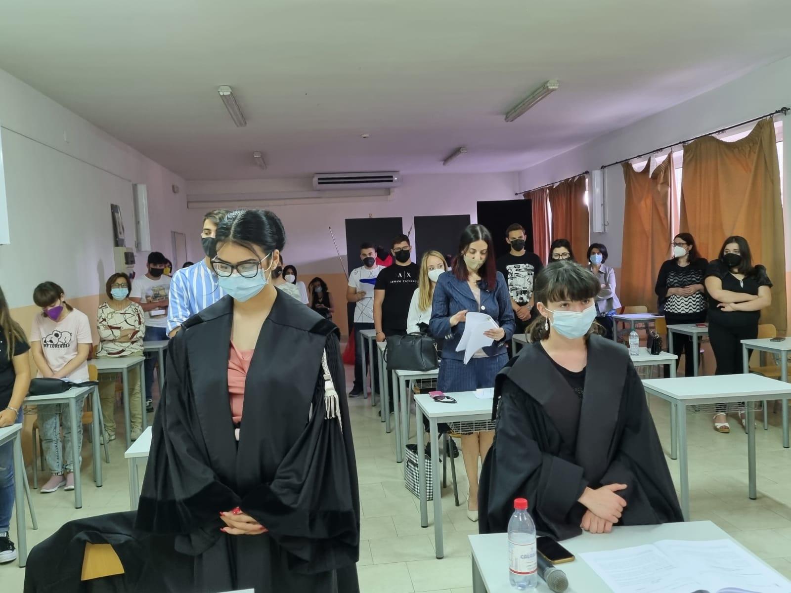"""Ipsia Siderno Locri, concluso il progetto """"Ciak…. un processo simulato per evitare un vero processo"""""""