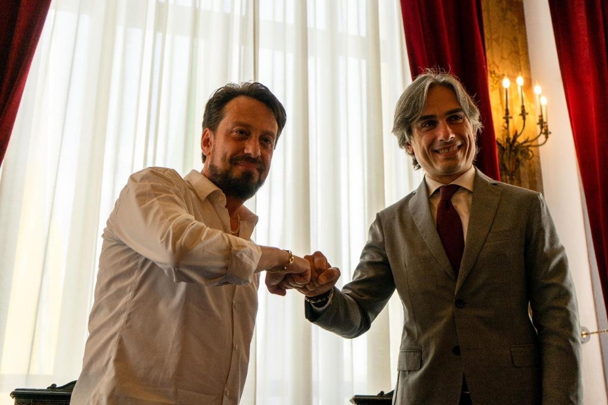 Reggio, firmata la convenzione: il Centro sportivo Sant'Agata sempre più amaranto