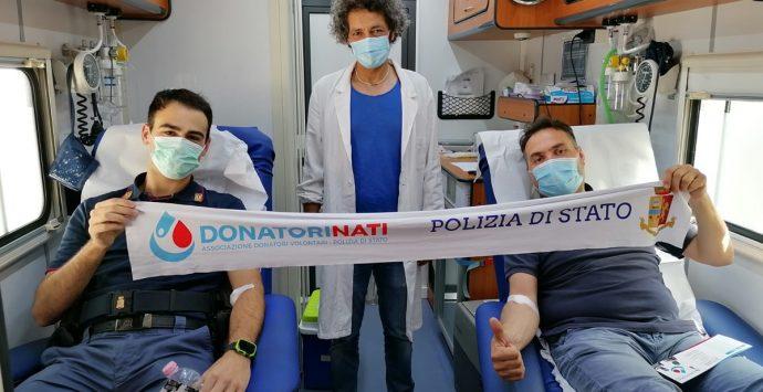 Giornata mondiale della donazione del sangue, a Gioia Tauro i DonatoriNati della Polizia di Stato