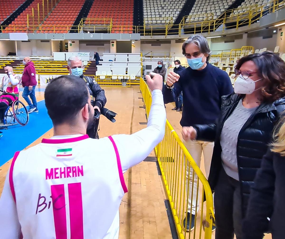 Basket in carrozzina, lo staff della Reggio Bic agli Europei U22 di Lignano Sabbiadoro