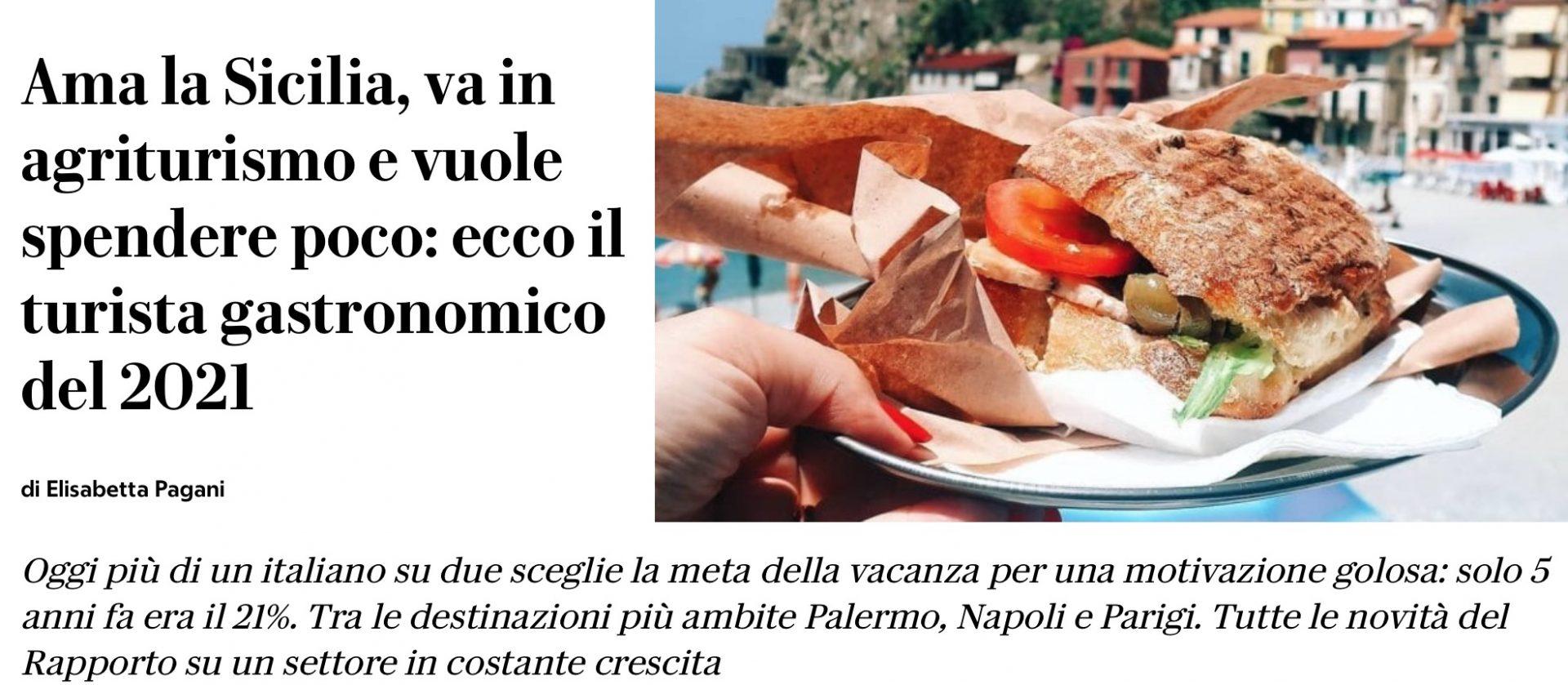 La gaffe di Repubblica: «Il turista per mangiare sceglie la Sicilia». Ma la foto è di Scilla