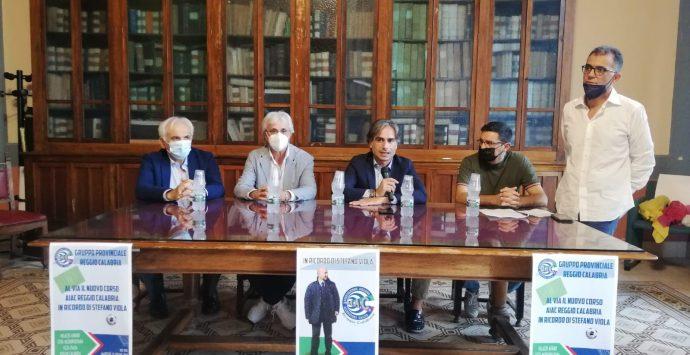 Presentato a Palazzo Alvaro il corso per allenatori di calcio intitolato a Stefano Viola