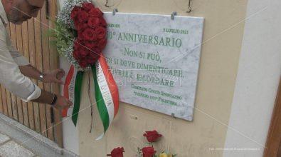 Polistena, la destra ricorda l'eccidio del 1971 e attacca: «Non facciamo carriera con i morti»