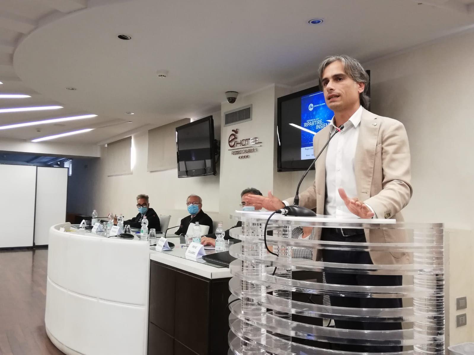 Gli auguri di Falcomatà al presidente della Cna: «Insieme per affrontare le sfide del futuro»
