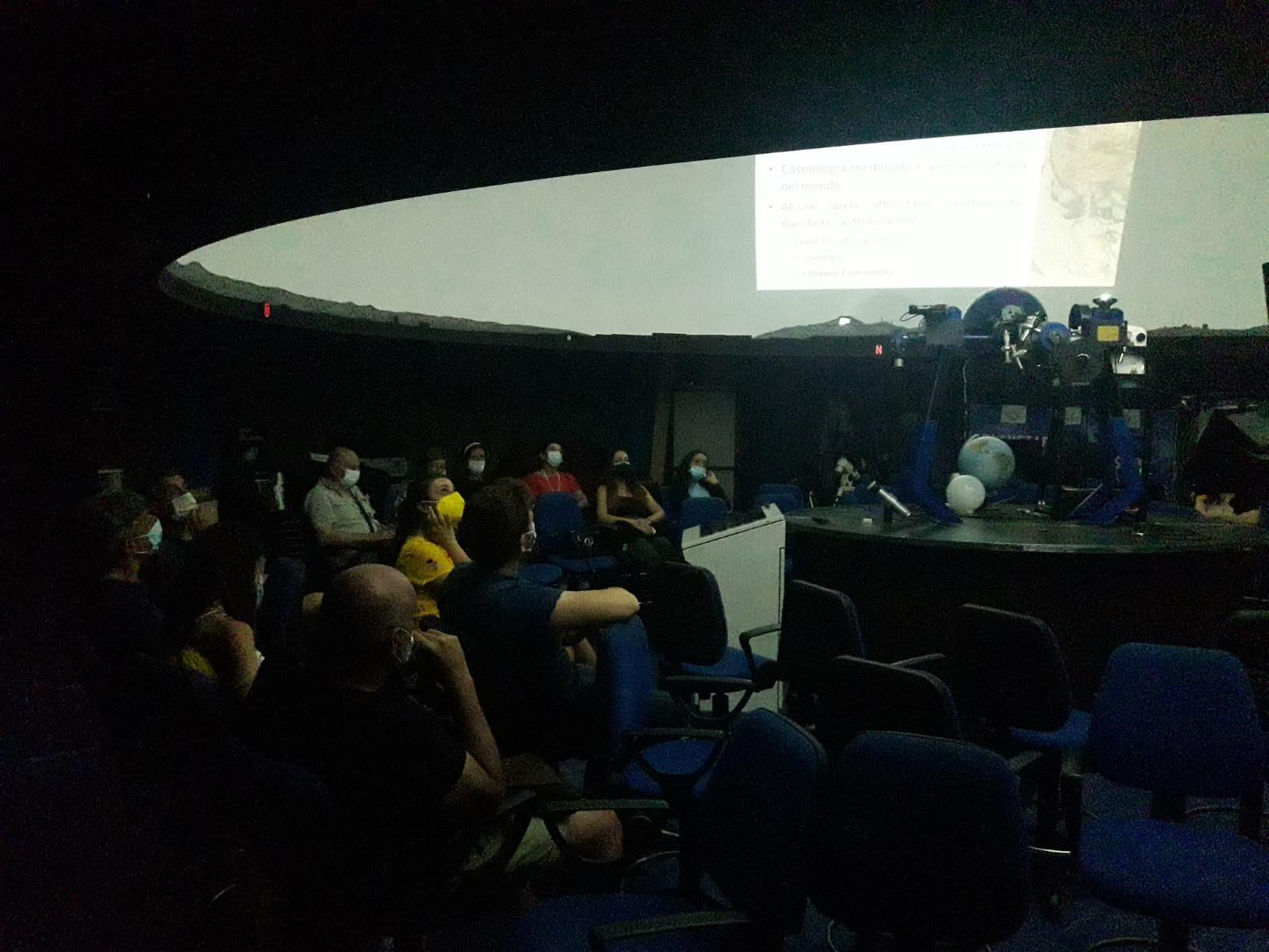 """Reggio, il Planetarium Pythagoras illumina """"Le stelle di Dante"""""""