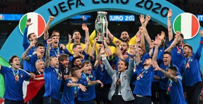 Italia, è qui la festa. Azzurri campioni d'Europa