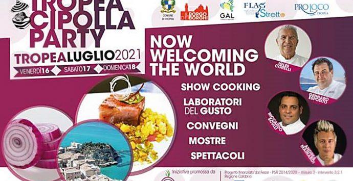 Tutto pronto per il Tropea cipolla party, l'agenzia di comunicazione Adv Maiora in campo per promuovere l'evento