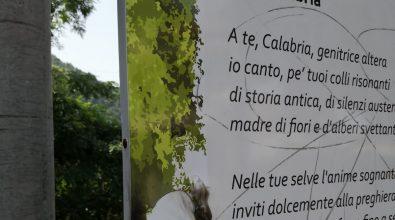 """Cittanova, danneggiato uno dei pannelli de """"Le vie dei poeti"""""""